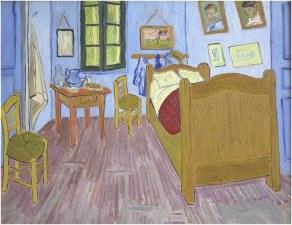Michel champion copiste c zanne monet van gogh gauguin renoir pissaro - Tableau de van gogh la chambre ...