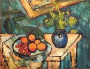 Reproduction tableau de Maurice de Vlaminck : nature morte